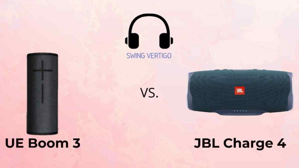 Ultimate ears Boom 3 vs JBL Charge 4